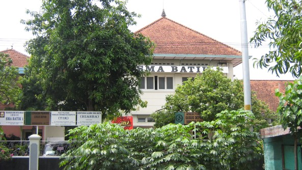 Gedung Tampak depan