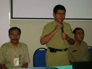 Pembukan Workshop Oleh Kepala Dinas Dikpora