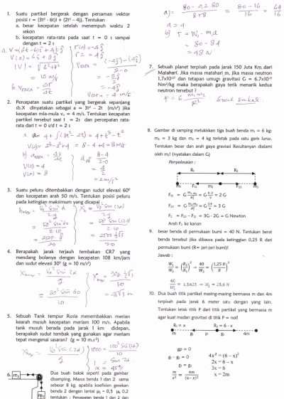 Kumpulan Soal Fisika Sma Kelas 11 Dan Pembahasan  restaurantrevizion